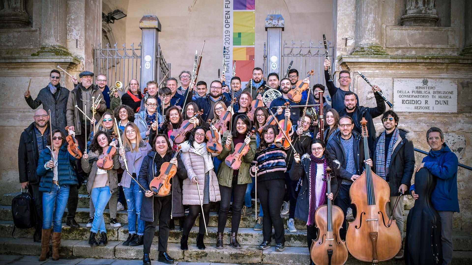 """Orchestra """"E.R. Duni"""" di Matera"""